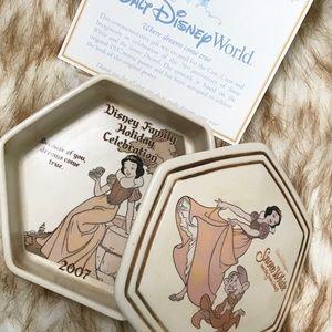 Snow White Disney 70th anniversary porcelain